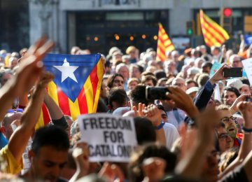 Catalan Leader Calls for Int'l Mediation in Madrid Stand-Off