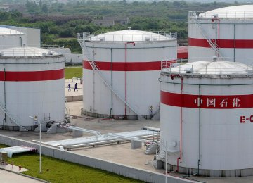 China's Sinopec Halves Iran Oil Loadings