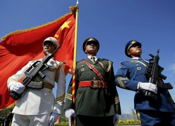 Chinese soldiers (File Photo)