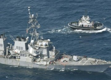 Seven US Destroyer Crew Missing Off Japan