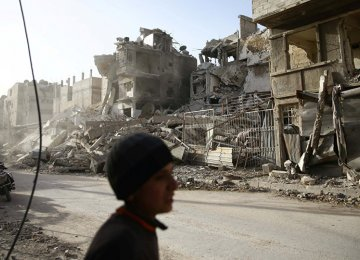 The militants holding Eastern Ghouta have been shelling Damascus for a long time, and the shelling has  intensified during the last ten days.