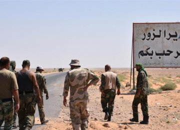 Syria Army Closer to IS-Held Deir Az Zor