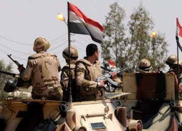 Armed Attack Kills Six Soldiers  in Egypt