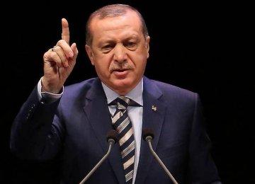Erdogan: Turkey Tired of EU Membership Process