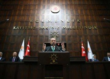Erdogan Says US Funding of Syrian YPG Militia to Impact Turkey's Decisions