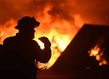 Wildfires Prompt Evacuations of 10,000 in South France