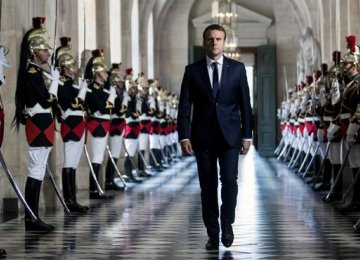The French opinion research institute  Ifop shows that only 36% of voters are satisfied with Emmanuel Macron.