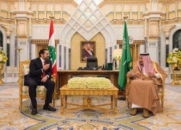 Hariri in Riyadh for First Visit Since Resignation