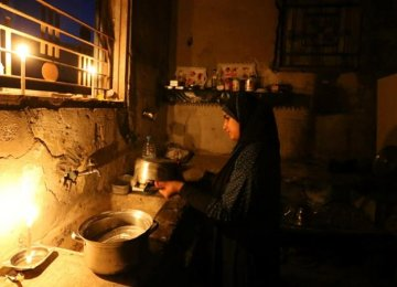 Israel Agrees to PA Request to Cut Gaza Electricity