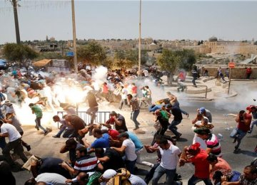 Israeli security forces violently clamped down on Friday's demonstrations.