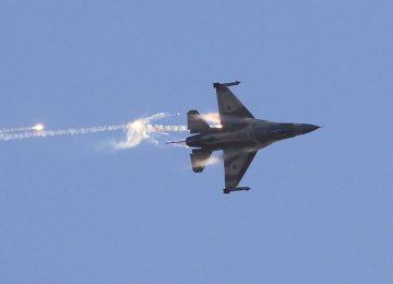 Israeli Jets Attack Anti-Aircraft Battery in Syria