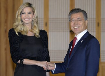 "Ivanka Trump to Push for ""Maximum Pressure"" on N. Korea"