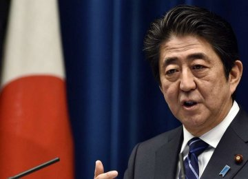 Abe Says Will Call Snap Parliamentary Election