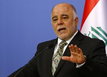 Iraq PM Reiterates Opposition to Kurdish Independence