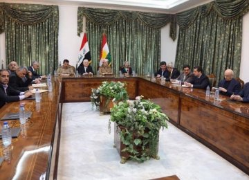 Iraq, Kurdistan Presidents Talk About Kirkuk Standoff
