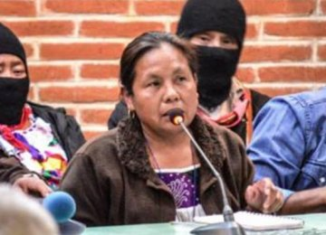 Zapatistas Back Woman for Presidency