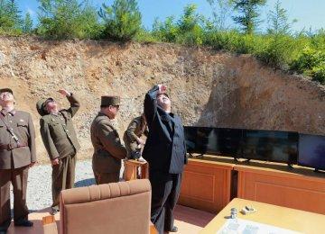 North Korea Preparing Long-Range Missile Test