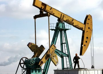 Oil Rises as Mideast Tensions Ease