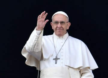 Pope Urges Colombians to Forgive, Reconcile