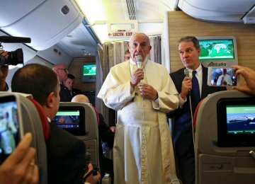Pope Says World on Very Limit of Nuclear War