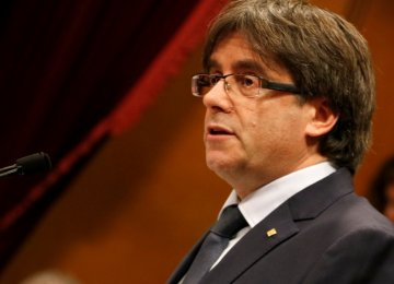 Catalan Separatists Agree Deal to Reelect Puigdemont