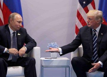 "Putin Calls for ""Pragmatic Cooperation"" With US"