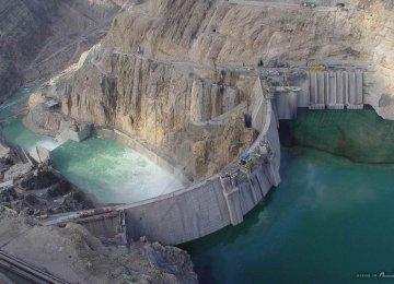 Iran Dams Half Full