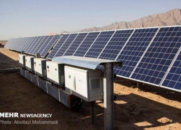 Solar Power Plants in Iran | Financial Tribune