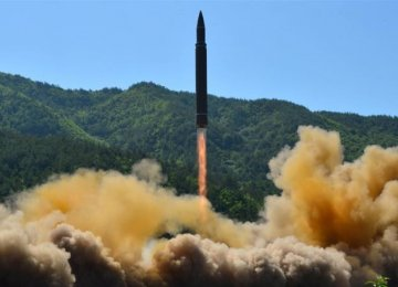 The US and UN have said the Hwasong-14 launched  on Tuesday was of intercontinental range.