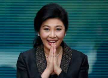Ex-Thai PM Sentenced in Absentia to 5 Years in Prison