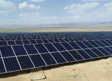 Isfahan Expanding Solar Energy