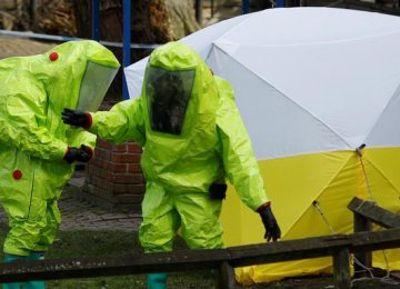 Russian State TV Accuses Britain of Poisoning Spy in Special Operation
