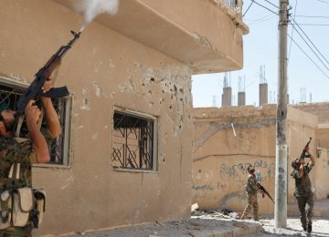 Fighting continues elsewhere in Syria even as a ceasefire has been declared in Deraa. (File Photo)