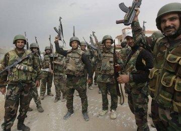 Syrian Army Ousts IS Near Raqqa