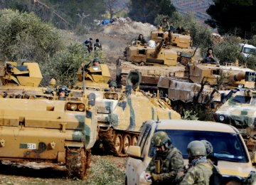 Turkey has launched the incursion into Afrin to rout the US-backed Syrian Kurdish militia, known as the People's Protection Units or YPG.