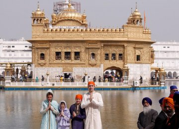 Trudeau Assures Canada Will Not Support India's Sikh Separatists