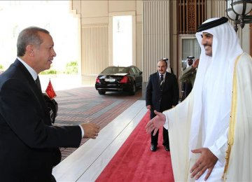 Erdogan Holds Talks in Qatar, Kuwait, Saudi Arabia
