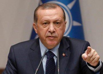 Erdogan Says Turkey Will Take Own Security Measures