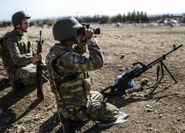 Four Turkish Soldiers Killed  in PKK Attack