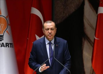 Erdogan Slams CHP Protest March
