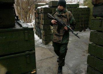 Shelling in Ukraine Kills 4