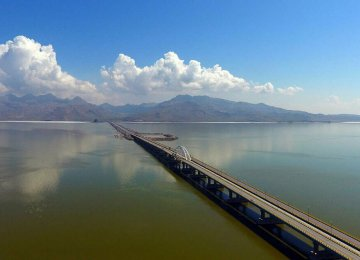 Water Level Rising in Urmia Lake
