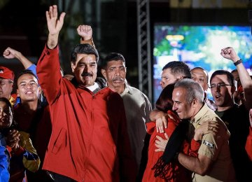Maduro Claims Victory in Controversial Vote