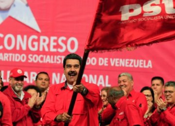 Venezuela's Socialist Party Nominates Maduro for Reelection