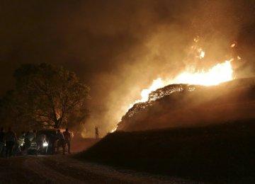 Wildfires Kill 32 in Portugal, 4 in Spain