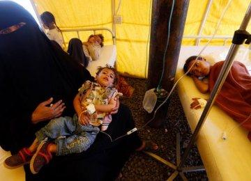 Cholera Infects One Yemeni Child Every Minute