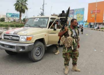 Yemen Separatists Surround Aden Presidential Palace