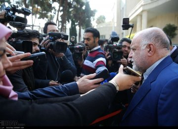 Zanganeh Says OPEC+ Needs Further Production Cuts
