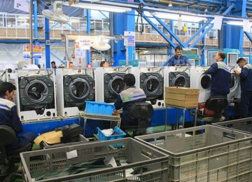 Iran's home appliances industry has a turnover of $8 billion.