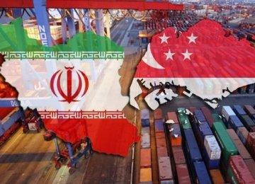 Iran's Trade Volume With Singapore Up 7.8%